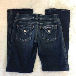 Denim - HUDSON Flap Pocket Distressed Jeans